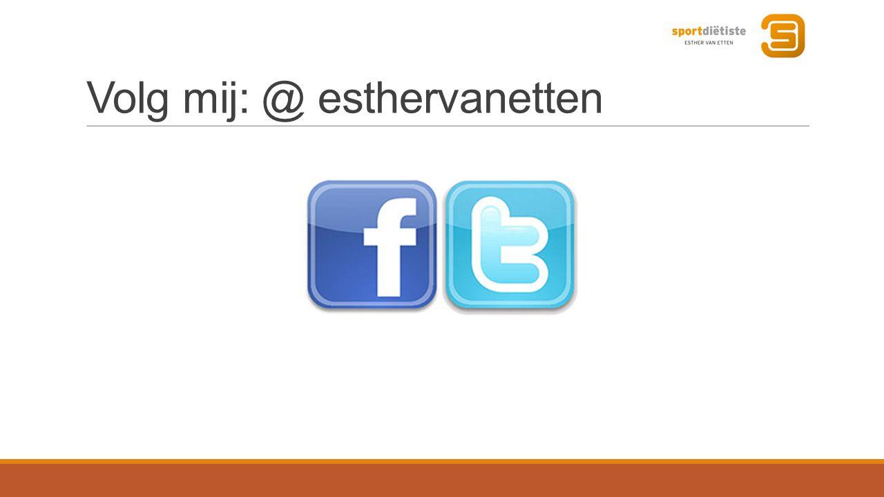 Volg mij: @ esthervanetten