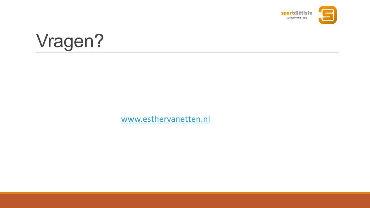 Vragen? www.esthervanetten.nl