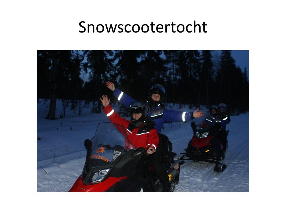 Snowscootertocht