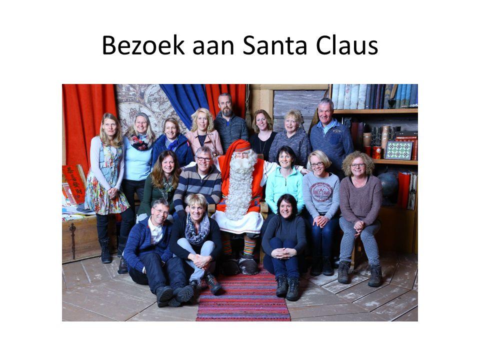 Bezoek aan Santa Claus