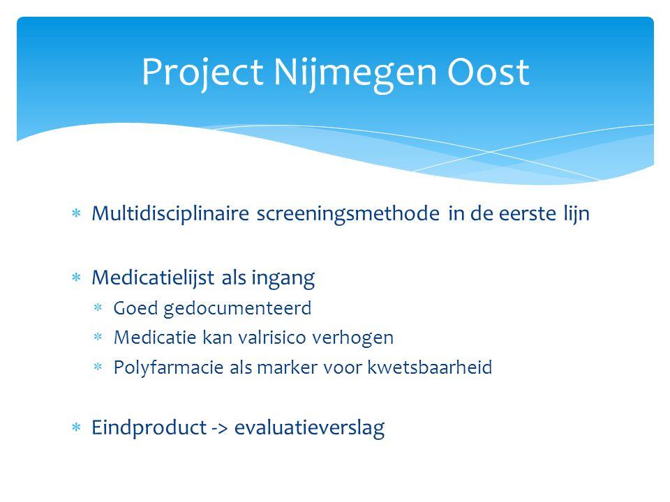  Procedure Nijmegen Oost herhalen in Lindenholt en Neerbosch-Oost met een aangescherpt protocol.