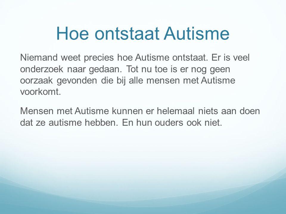 Klassiek autisme PDD-NOS Syndroom van Heller Stoornis van Asperger RETT