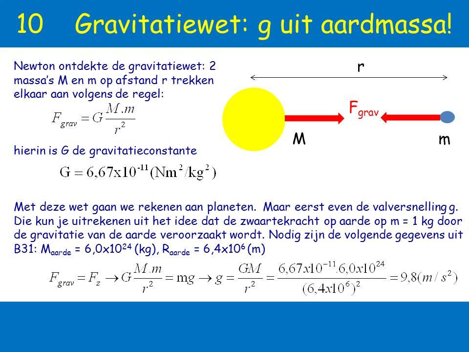 8 KEPLERWETTEN Kepler schreef een studie over Mars, waarin hij 100 derden wiskundige wetten formuleerde. De wetten klopten binnen enkele boogseconden.