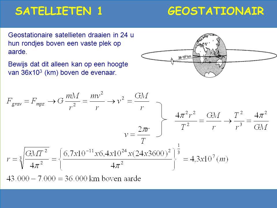 12 Satellieten (GPS, telefonie) Satellieten draaien om aarde - geostationair - polair elke week een satelliet omhoog Toepassingen - weer8000 om aarde