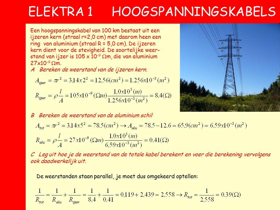 9 IDEALE VOLTMETER Als je de spanning U die een weerstand R 2 verbruikt wilt weten schakel je een voltmeter parallel, als hiernaast We gaan rekenen aa