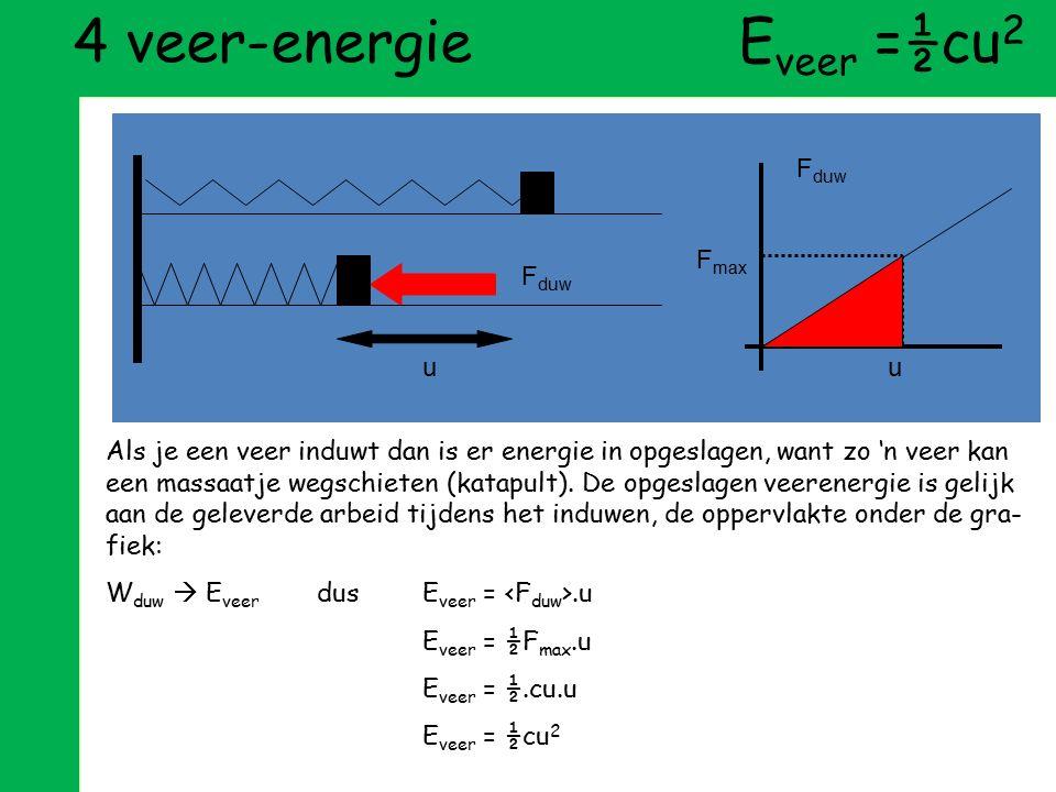 definitie arbeid tweede wet van Newton: F=m.a definitie versnelling volgorde vermenigvuldigen en delen definitie gemiddelde snelheid helft van topsnel