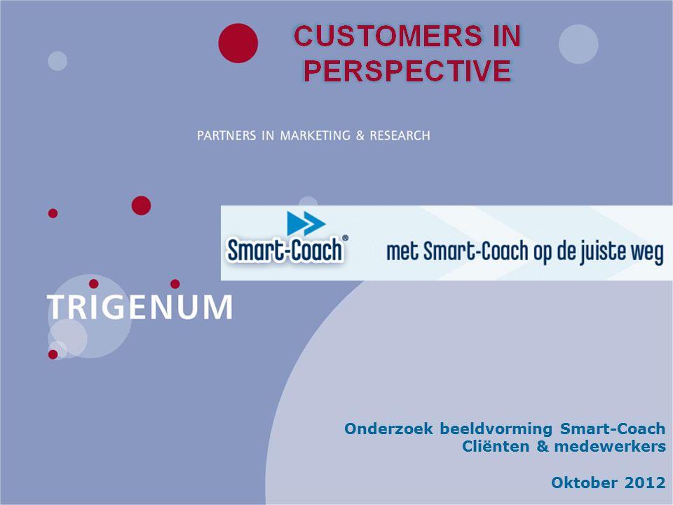 Onderzoek beeldvorming Smart-Coach Cliënten & medewerkers Oktober 2012