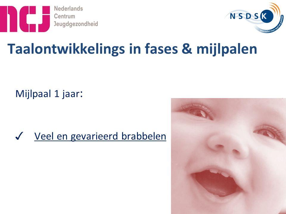 39 Afname bij 24 maanden verrijkt Van Wiechen Heeft het kind met kenmerk 41 en 42 in totaal 4 punten behaald.