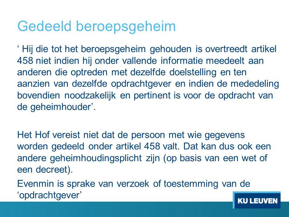 Wet rechten patiënt Geldt voor alle K.B.nr.