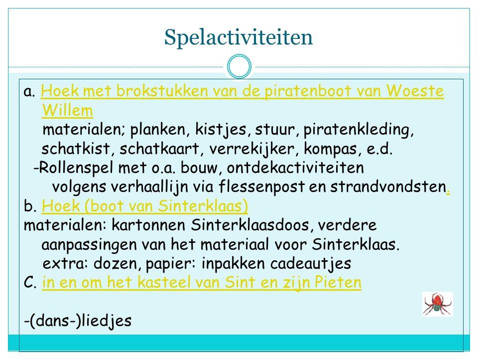 Constructieve en beeldende activiteiten -lichtje voor de boot: lampion -Piraten/Sinterklaasboot van kosteloos mat.(evt. verven) - bouw en constructiea