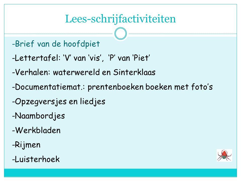 Spelactiviteiten a. Hoek met brokstukken van de piratenboot van Woeste WillemHoek met brokstukken van de piratenboot van Woeste Willem materialen; pla