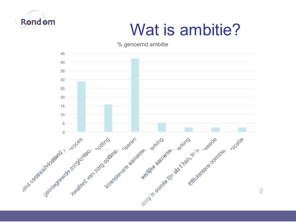 Wat is ambitie?
