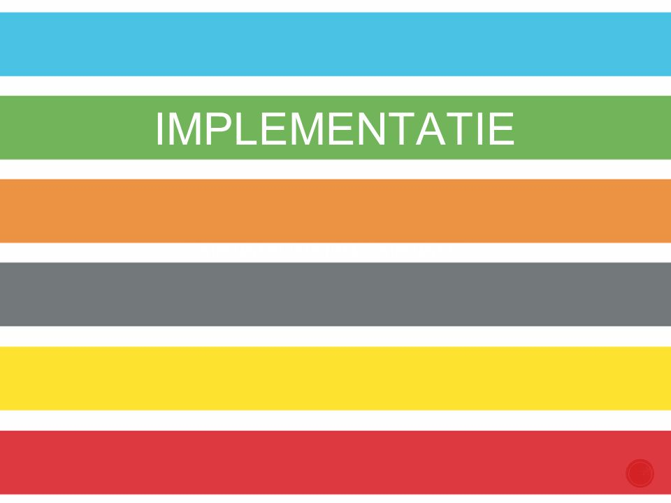 COMPETENT IN ARTISTIEKE COMPETENTIES IMPLEMENTATIE