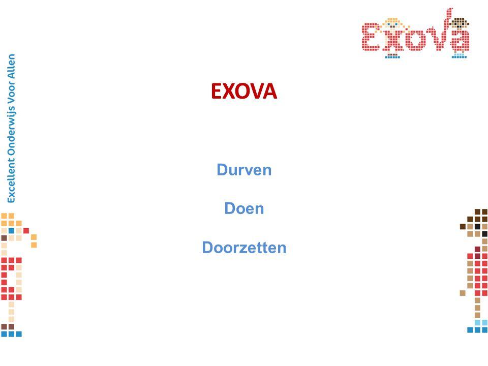 EXOVA Durven Doen Doorzetten