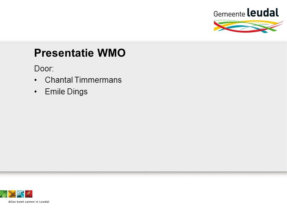 Organisatie werkzaamheden schuldhulpverlening Gemeente Leudal (medewerkers WIZ) Kredietbank Limburg