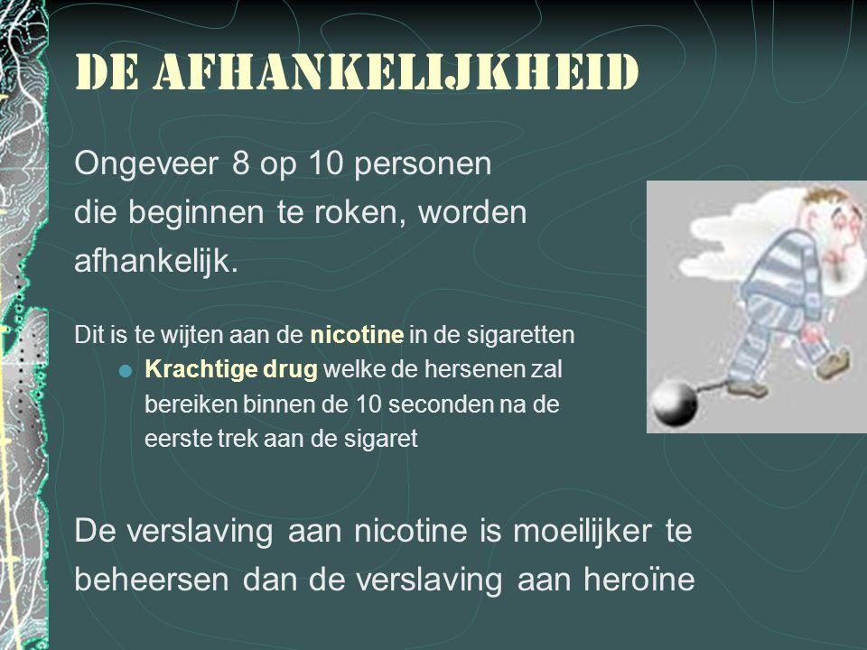 Dus: Stop de sigaret 0800 111 00 (gratis) 070 227 227
