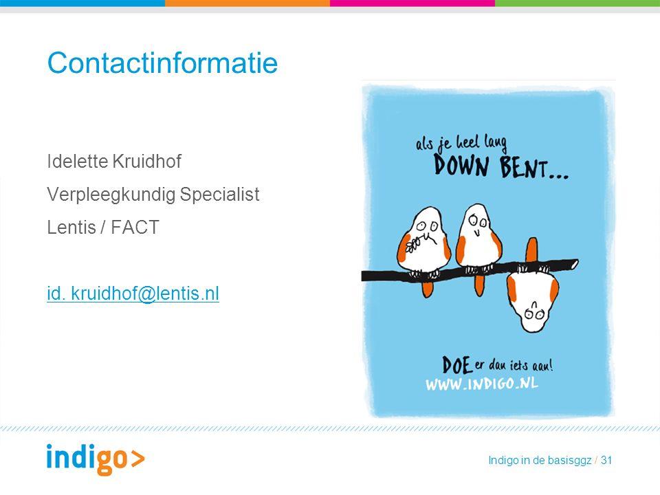 Contactinformatie Idelette Kruidhof Verpleegkundig Specialist Lentis / FACT id.