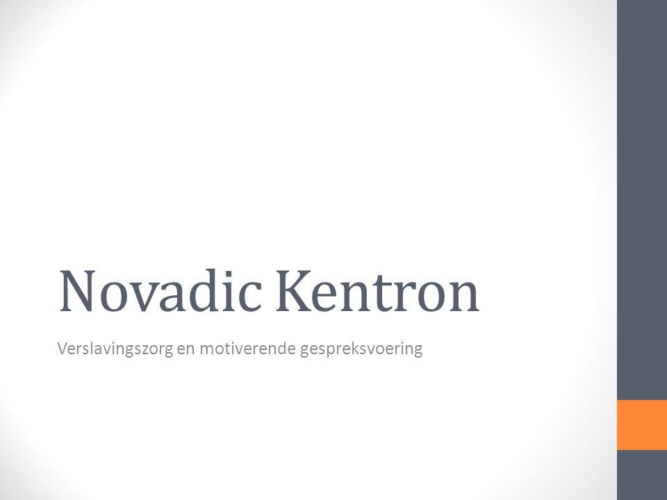 Novadic Kentron Verslavingszorg en motiverende gespreksvoering