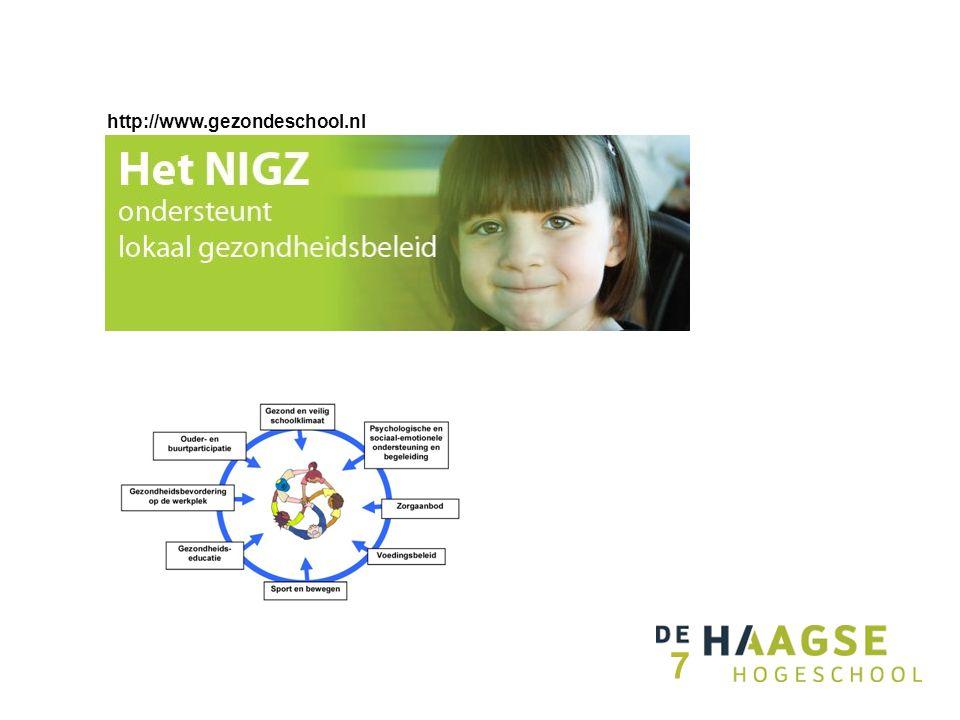 http://www.gezondeschool.nl 7