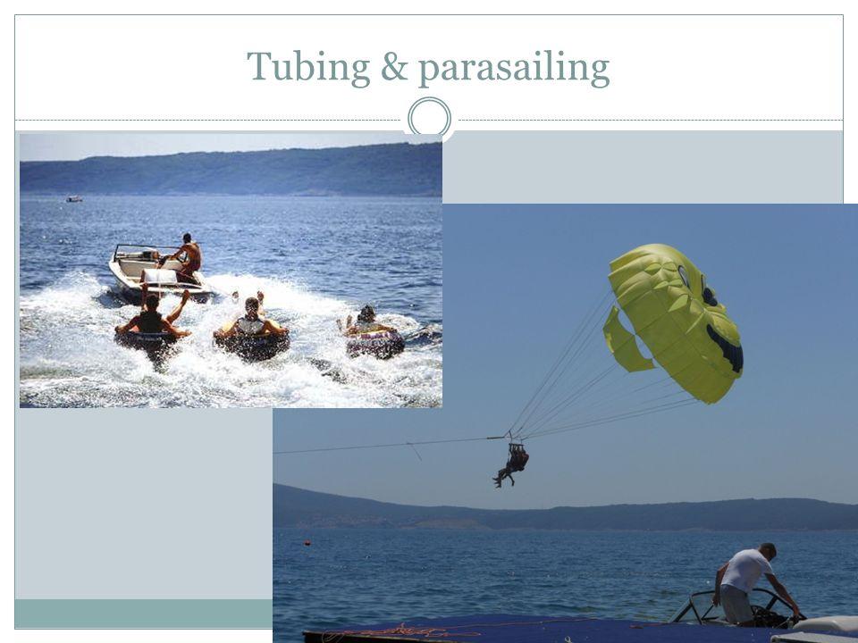 Tubing & parasailing
