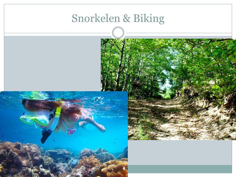 Snorkelen & Biking
