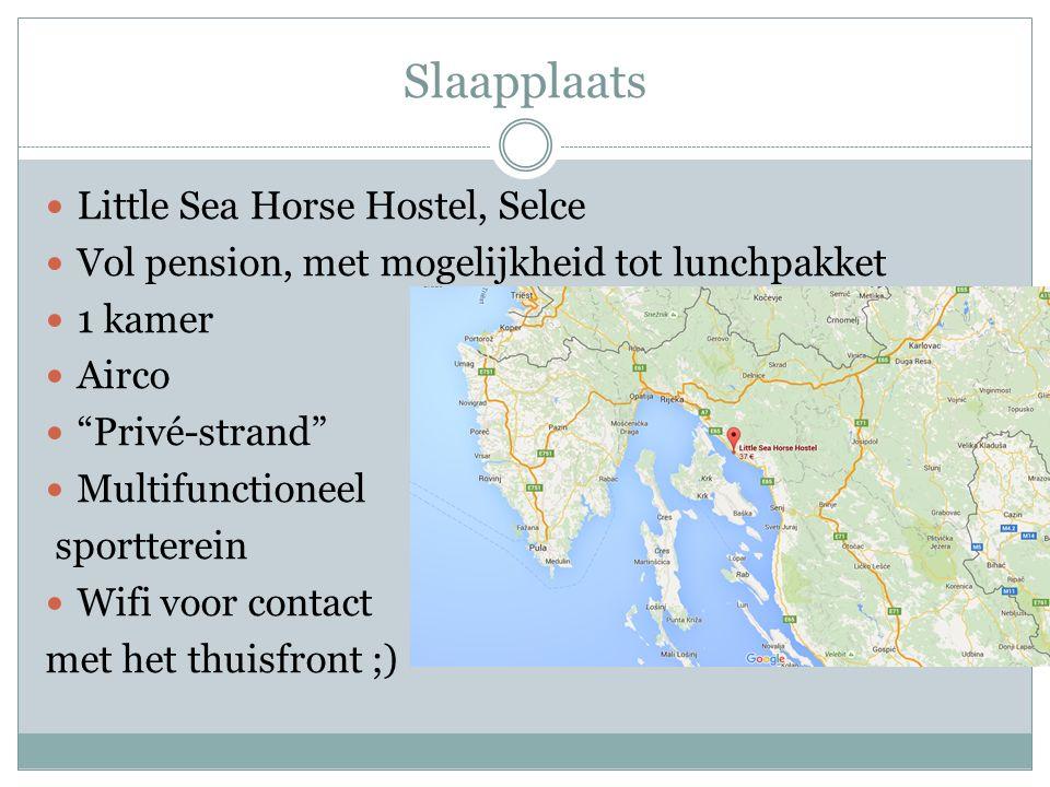 Slaapplaats Little Sea Horse Hostel, Selce Vol pension, met mogelijkheid tot lunchpakket 1 kamer Airco Privé-strand Multifunctioneel sportterein Wifi voor contact met het thuisfront ;)