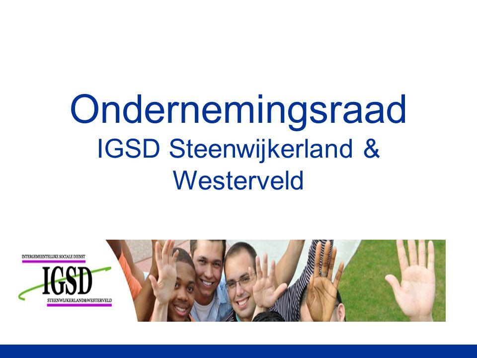 Ondernemingsraad IGSD Steenwijkerland & Westerveld