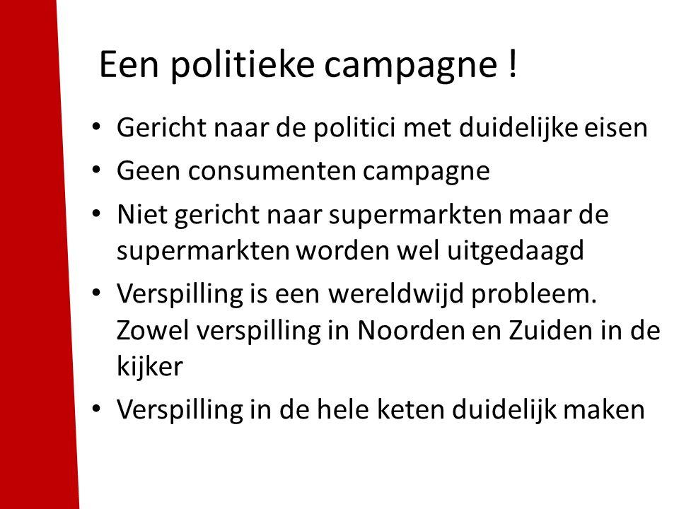 Een politieke campagne.