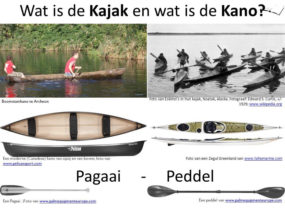 Wat is de Kajak en wat is de Kano? Een moderne (Canadese) kano van opzij en van boven; foto van www.pelicansport.com www.pelicansport.com Foto van een