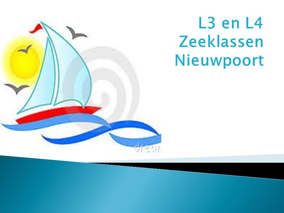L3 en L4 Zeeklassen Nieuwpoort