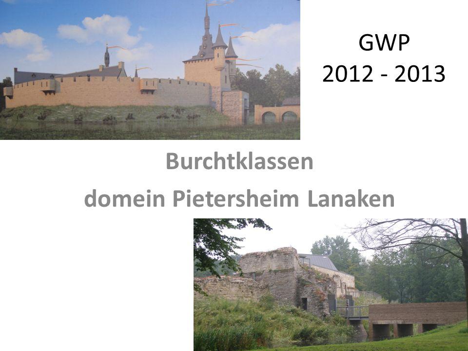 GWP 2012 - 2013 Burchtklassen domein Pietersheim Lanaken