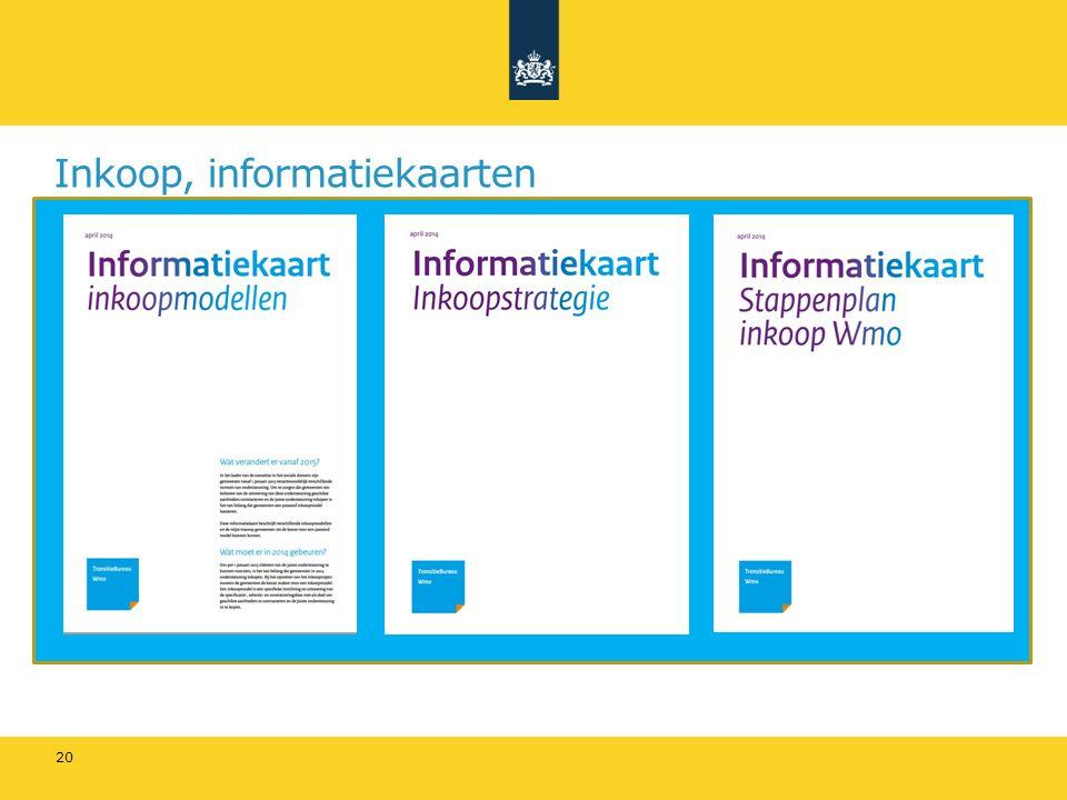 Inkoop, informatiekaarten 20