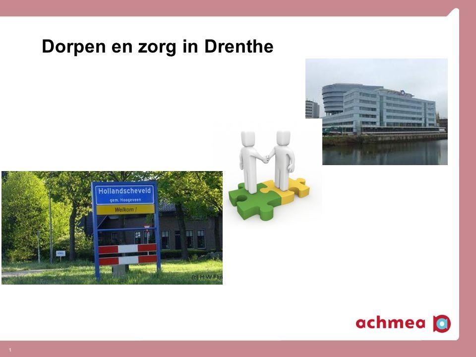 Dorpen en zorg in Drenthe 1