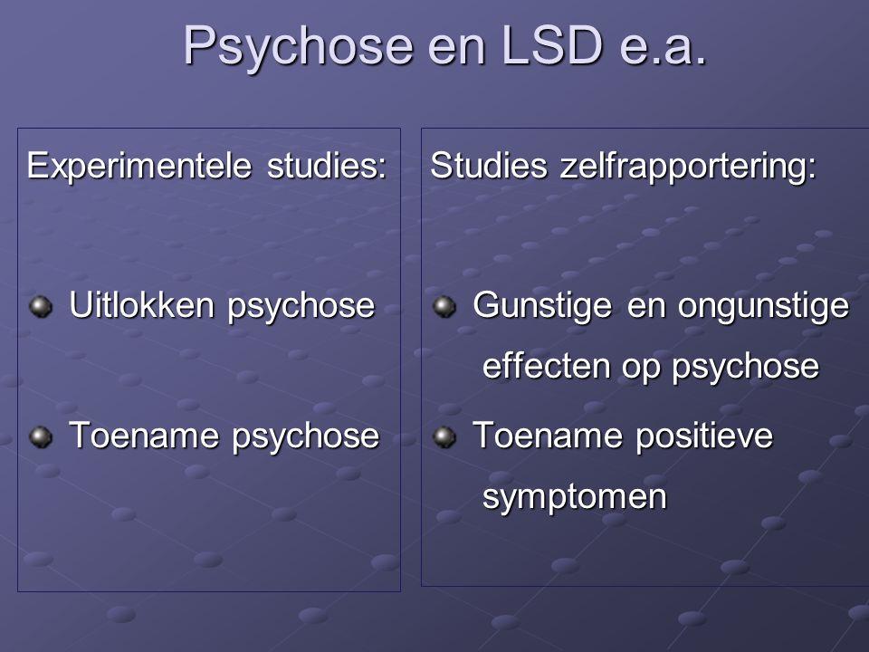 Psychose en LSD e.a.