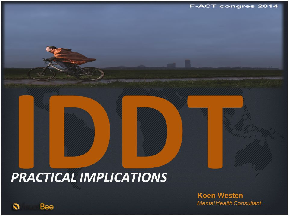 IDDT PRACTICAL IMPLICATIONS Koen Westen Mental Health Consultant