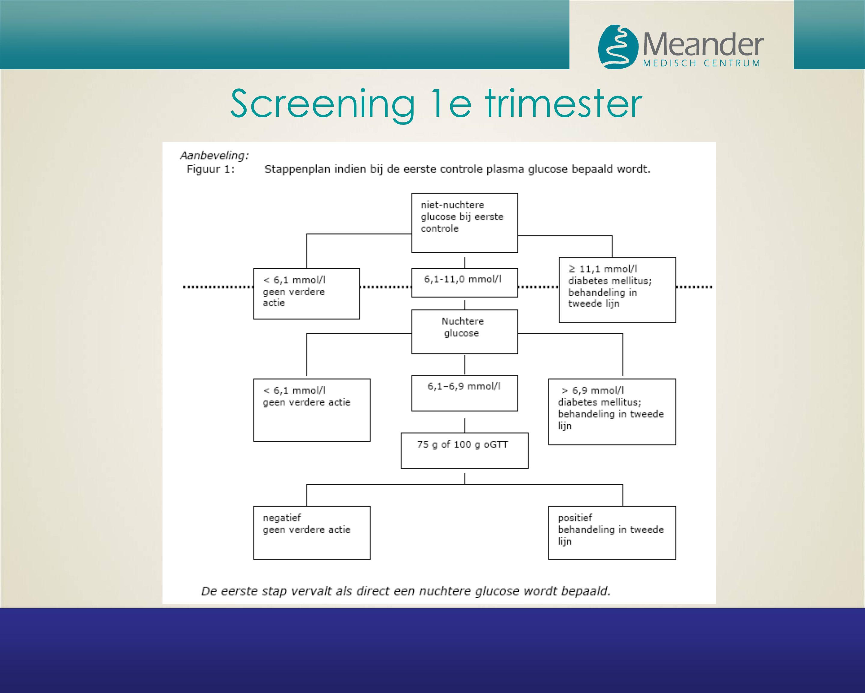 Screening 1e trimester