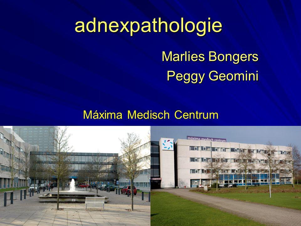 adnexpathologie Marlies Bongers Peggy Geomini Máxima Medisch Centrum