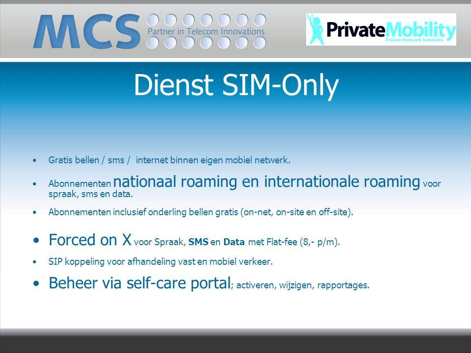 Gratis bellen / sms / internet binnen eigen mobiel netwerk. Abonnementen nationaal roaming en internationale roaming voor spraak, sms en data. Abonnem