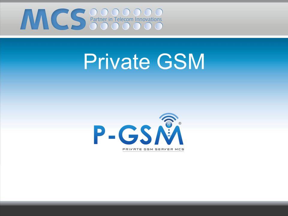 Private GSM