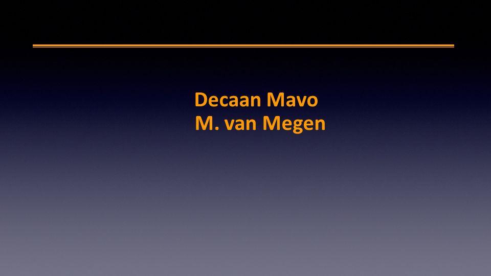 Decaan Mavo M. van Megen