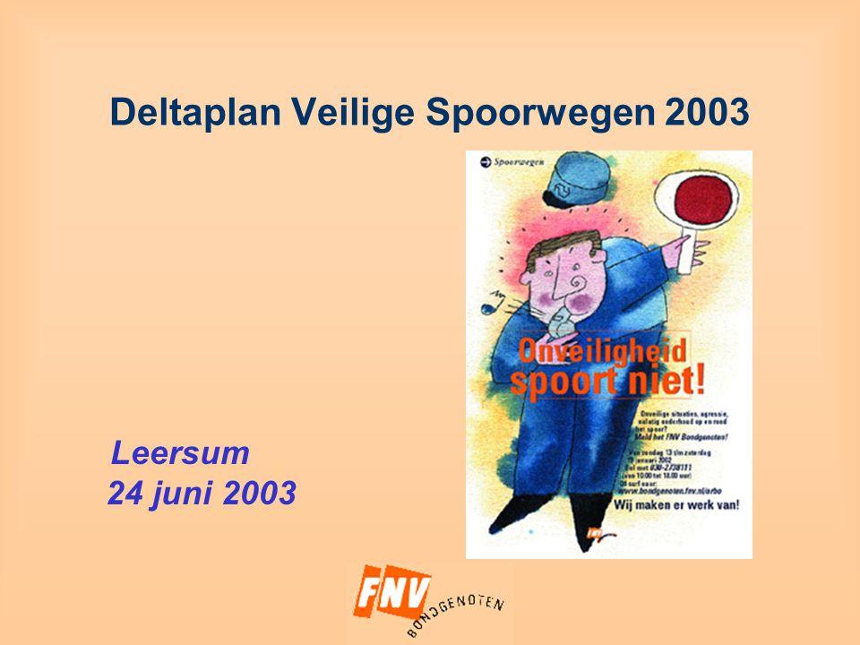Deltaplan Veilige Spoorwegen 2003 Leersum 24 juni 2003
