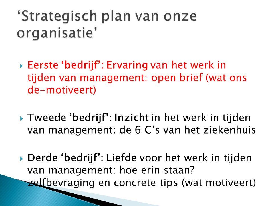 Management-hardnekkigheid: Cf.