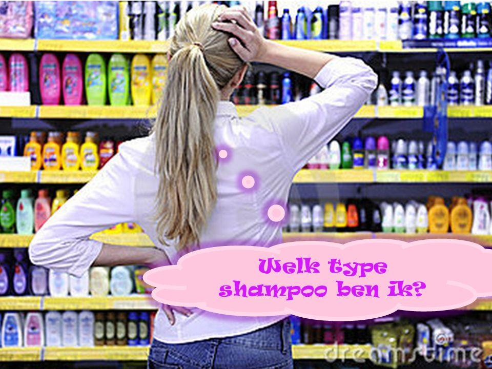 Welk type shampoo ben ik?