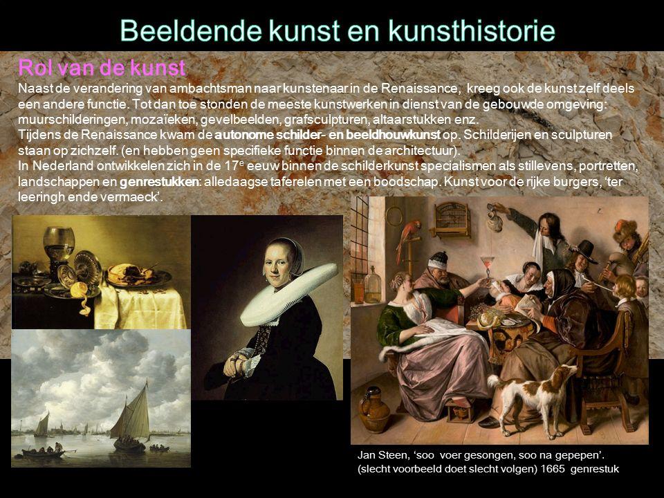 Jan Steen, 'soo voer gesongen, soo na gepepen'.