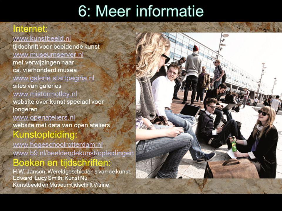 Internet: www.kunstbeeld.nl tijdschrift voor beeldende kunst www.museumserver.nl met verwijzingen naar ca.