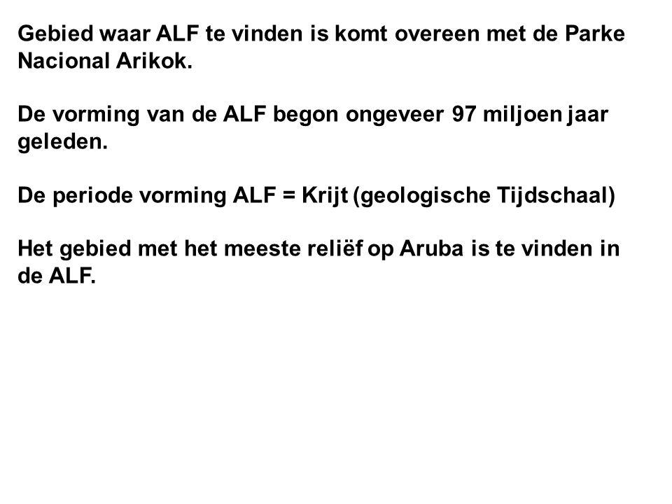 Gebied waar ALF te vinden is komt overeen met de Parke Nacional Arikok.
