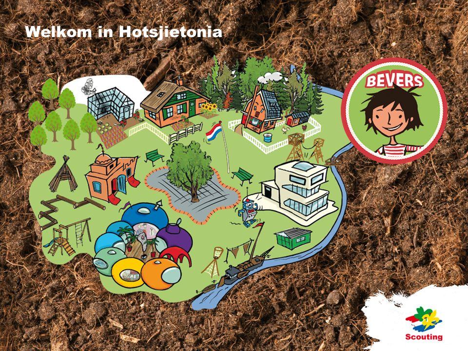 Onderwerpen Vernieuwd spelaanbod Spelvisie SCOUTS Doorlopende leerlijn Activiteitengebieden Het dorp Hotsjietonia De themafiguren Materialen