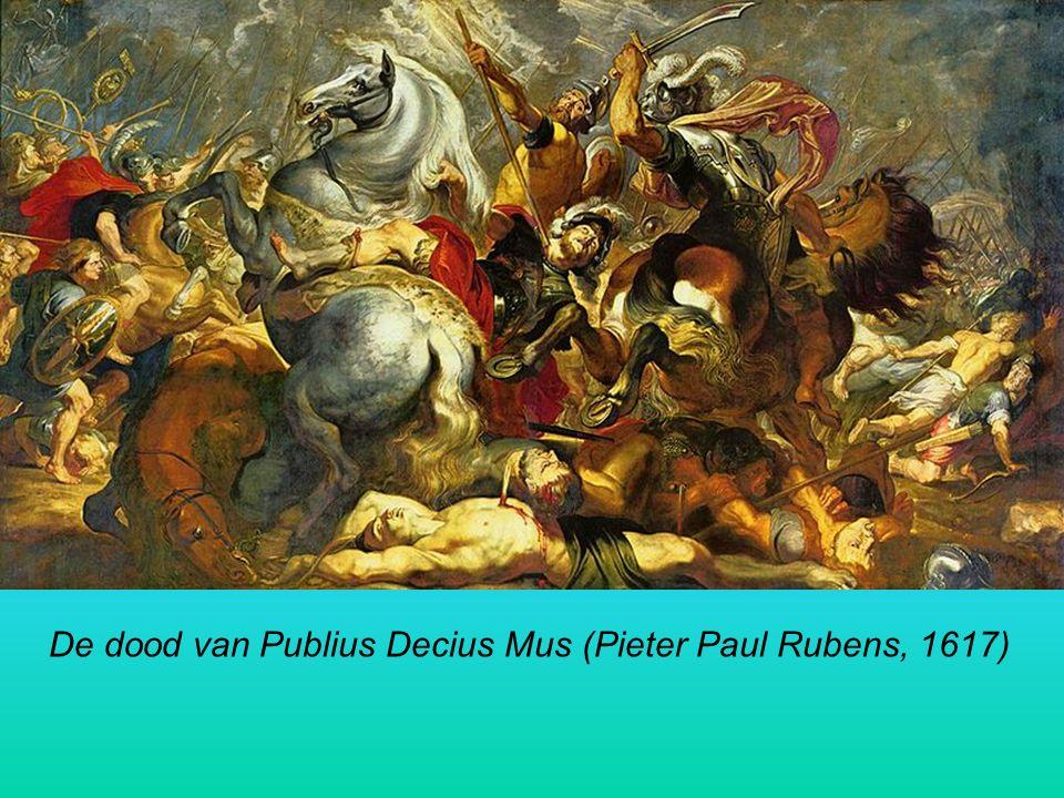 De dood van Publius Decius Mus (Pieter Paul Rubens, 1617)