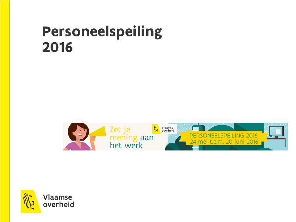 Personeelspeiling 2016