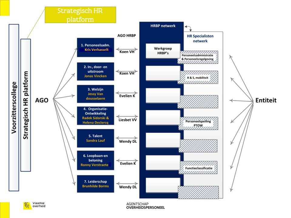 Ervaringen HR netwerkmodel in de praktijk Strategisch HR platform